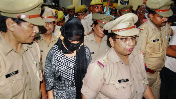 The law student who has accused Swami Chinmayanand of rape