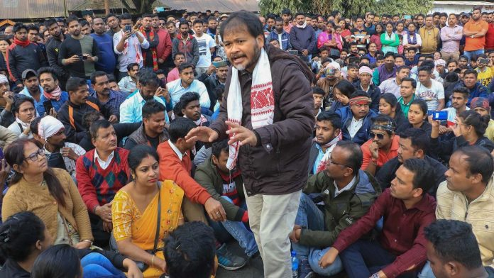 Akhil Gogoi is sick, has symptoms of Covid' — jailed RTI activist's wife in Facebook post