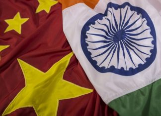 The national flags of China and India (Representational Image)   Photo: Dhiraj Singh   Bloomberg