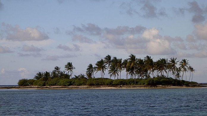 An island in the Lakshadweep archipelago   Wikimedia Commons